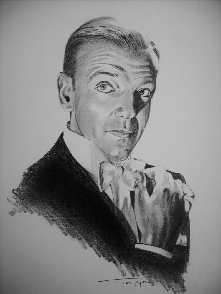 Fred Astaire por Tom-Heyburn